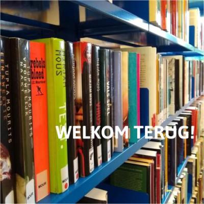 De bibliotheek in coronatijden